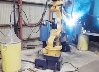 仕口溶接ロボット